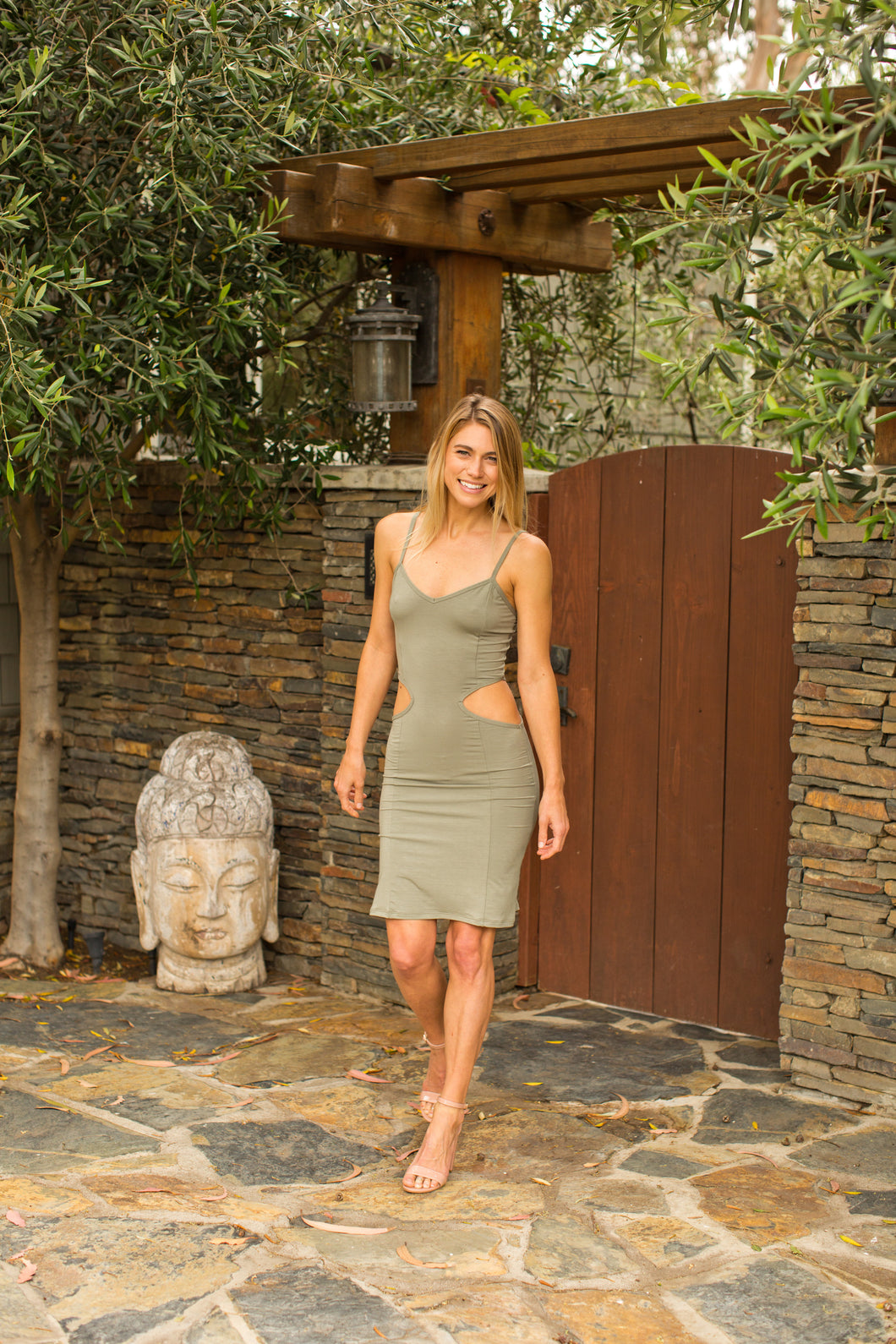 SHANNON CUT OUT MINI DRESS