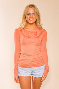 GIA PULLOVER LONG SLEEVE TOP