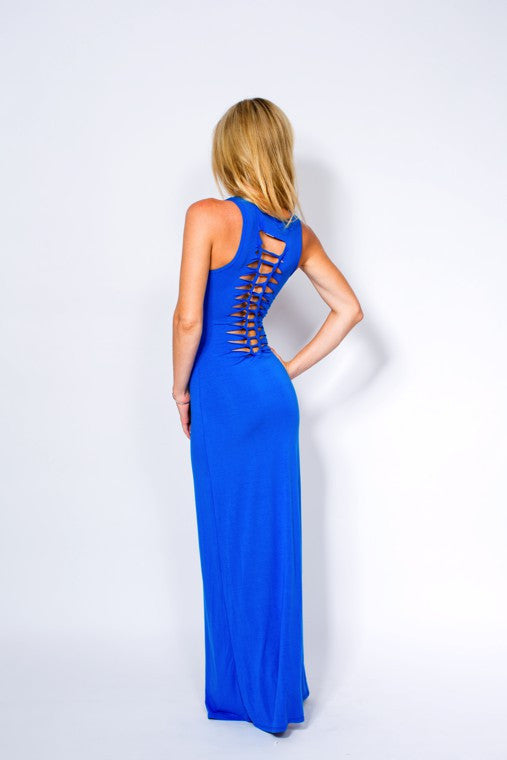 ARUBA MAXI DRESS WITH SLIT