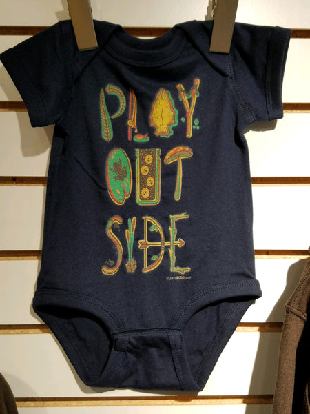 Play Outside Baby Onesie