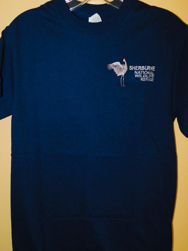 Sherburne National Wildlife Refuge Long-Sleeve T-Shirt with Sandhill Crane