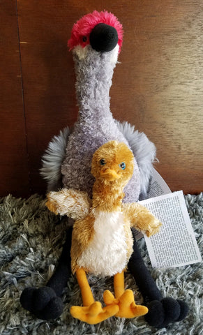 Sandhill Crane & Colt Stuffed Animals