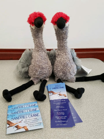Sandhill Crane Stuffed Animal