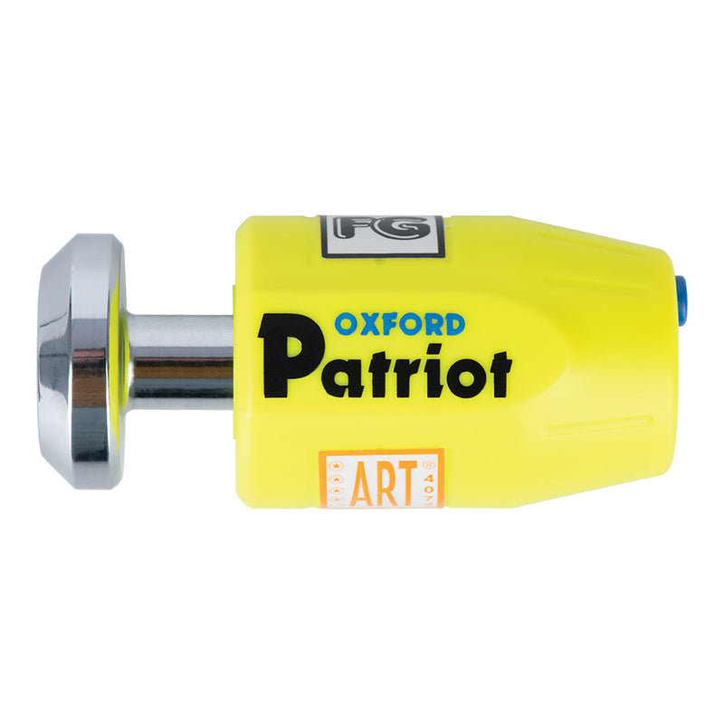Oxford Patriot Disc Lock Extended Pin
