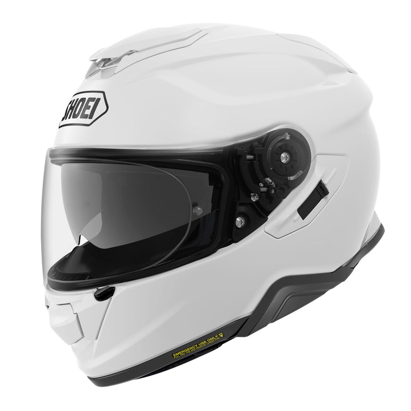 Shoei GT Air II Plain White Helmet