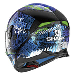 Shark Skwal 2 Switch Rider 2 KBG Helmet