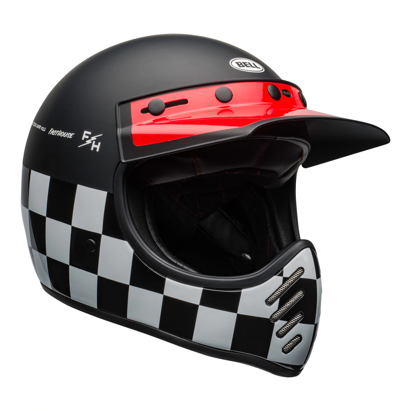 Bell Cruiser 2020 Moto 3 Fasthouse Checkers Helmet