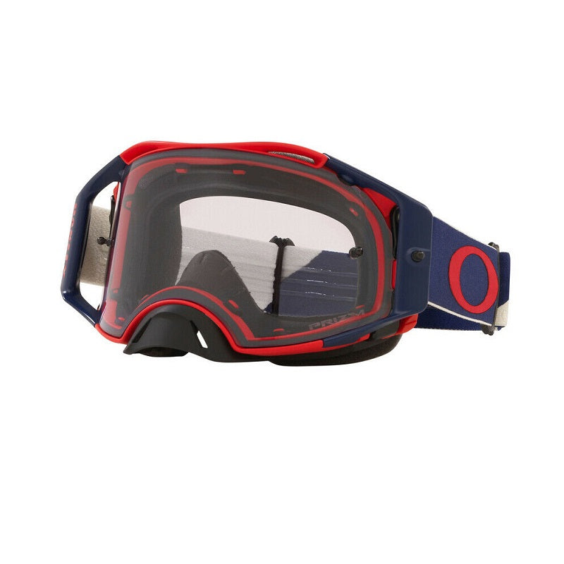 Oakley Airbrake MX Goggle (Heritage B1B Red/Navy) Prizm Low Light Lens