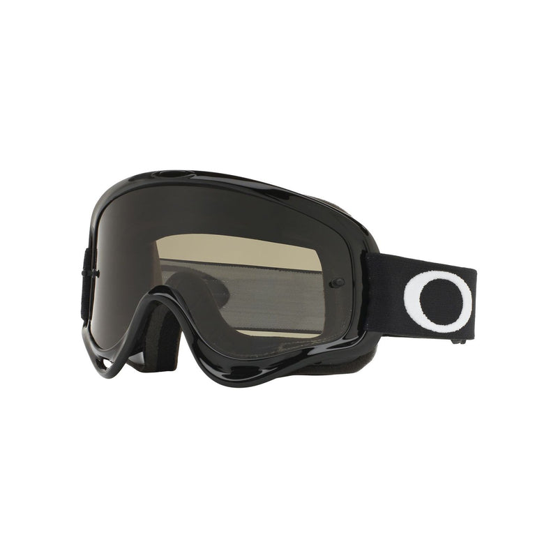 Oakley O Frame MX Goggle Adult (Jet Black) Dark Grey Lens