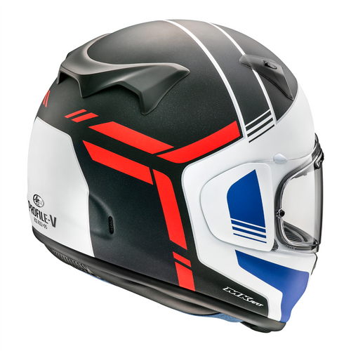 Arai Profile-V Tube Red Helmet