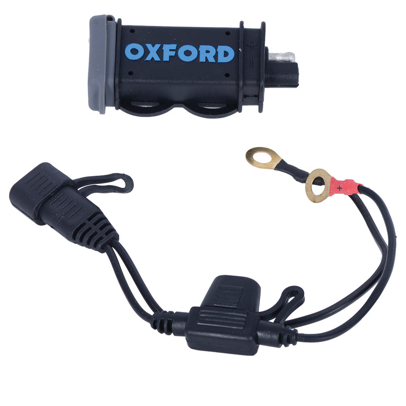 Oxford USB 2.1 Amp Fused Power Charging Kit