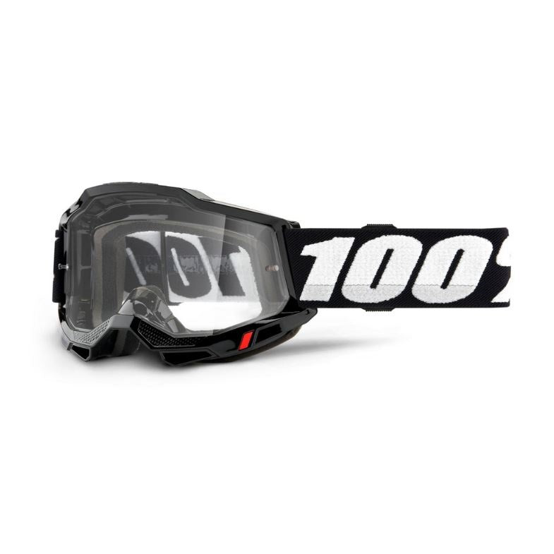 100% Accuri 2 Goggle Black / Clear Lens