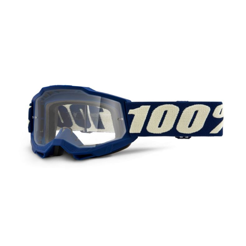 100% Accuri 2 Youth Goggle Deepmarine / Clear Lens