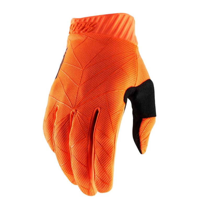 100% Ridefit Gloves Fluo Orange