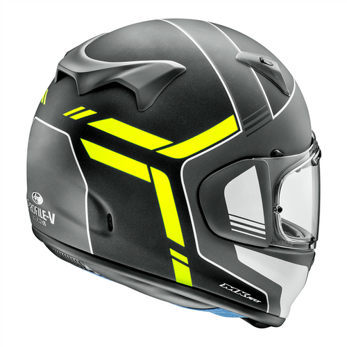 Arai Profile-V Tube Yellow Helmet