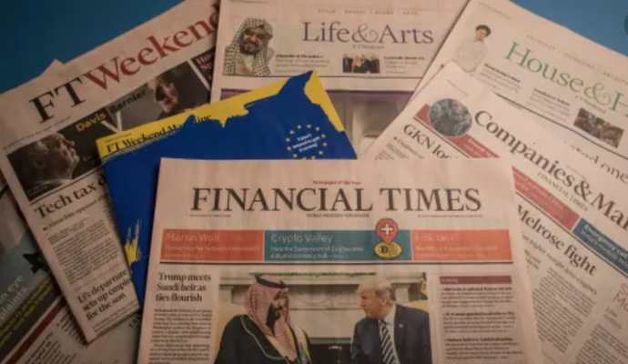 The Financial Times House & Home mention by Luke Edward Hall