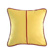 Load image into Gallery viewer, Piping: Sandy Yellow & Wine Red
