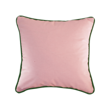 "Load image into Gallery viewer, ""The Frances"": Dusty Pink & Mango Tree Green piping"