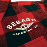 Sebago Flannel- Embroidered