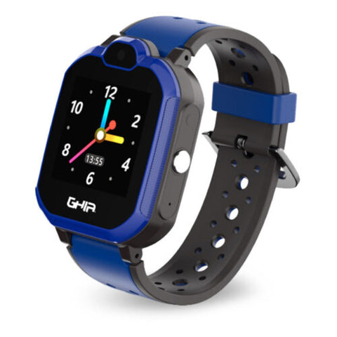 Ghia Smart Watch Kids 4g Azul-Negro