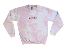 Load image into Gallery viewer, Pink Bleach Dyed Crewneck