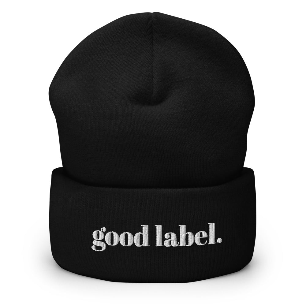 Good Label Beanie