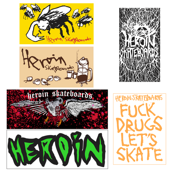 HEROIN SPRING 19 STICKER