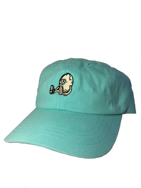 The Egg Teal Snapback