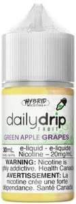 Daily Drip SALTS - Green apple Grape