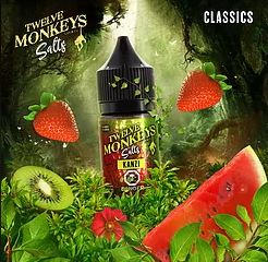 Twelve Monkeys - Kanzi SALT NIC