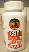 Load image into Gallery viewer, CBD infused Assorted Gummy Bears - 1000mg - Grow Guru UK