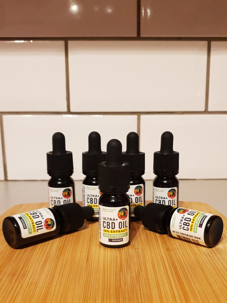 GROW GURU FULL SPECTRUM CBD OIL - CBD OIL 1000MG - ORAL CBD OIL DROPS - ANXIETY DEPRESSION HEALTH-CBD OIL-Grow Guru UK-Grow Guru Ltd