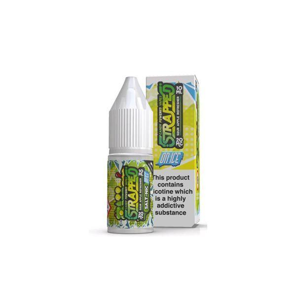 20mg Strapped On ICE 10ml Flavoured Nic Salt (60VG/40PG)-Vaping Products-Strapped-Grow Guru Ltd