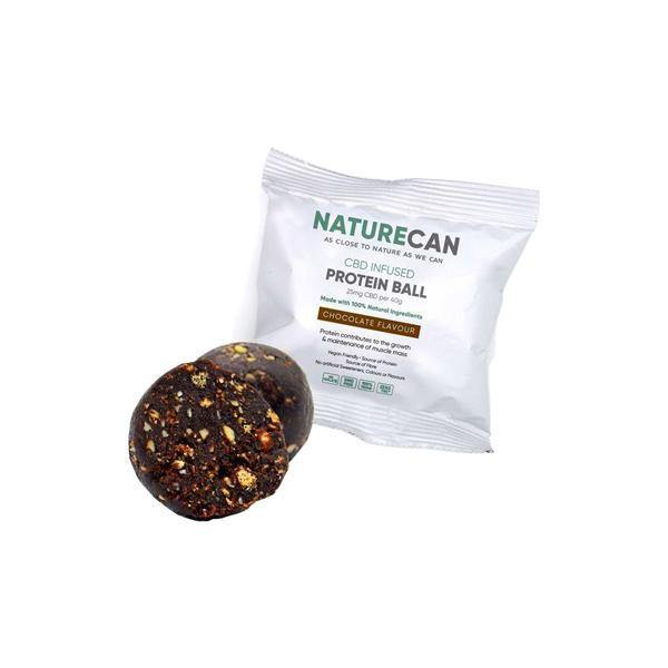 Naturecan 25mg CBD Protein Ball 40g-CBD Products-Naturecan-X 1-Grow Guru Ltd