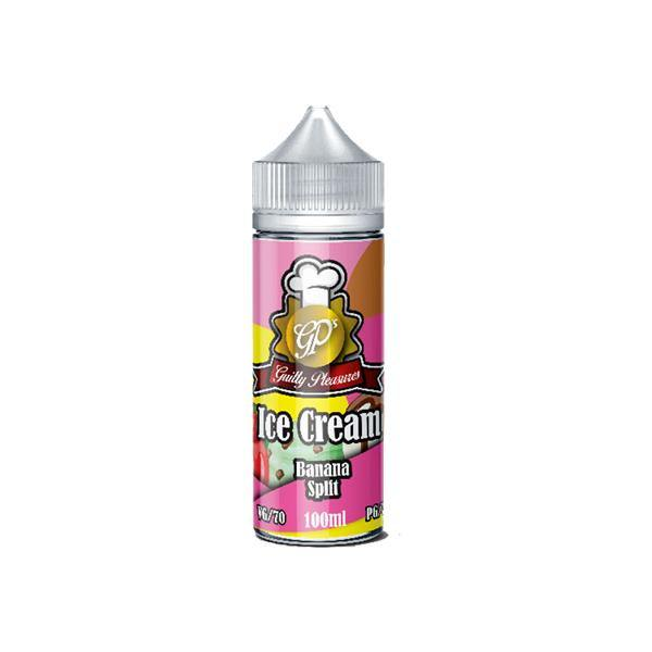 Guilty Pleasures Ice Cream 0mg 100ml Shortfill (70VG/30PG)-Vaping Products-Guilty Pleasures-Grow Guru Ltd