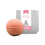 Ultracalm 50mg CBD Bath Bombs 170g-CBD Products-Ultracalm-Strawberry & Prosecco-Grow Guru Ltd