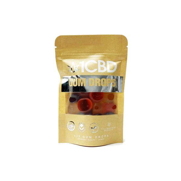 1CBD Pure Hemp CBD fruit flavoured Gum Drops 300mg CBD-CBD Products-1CBD-Grow Guru Ltd