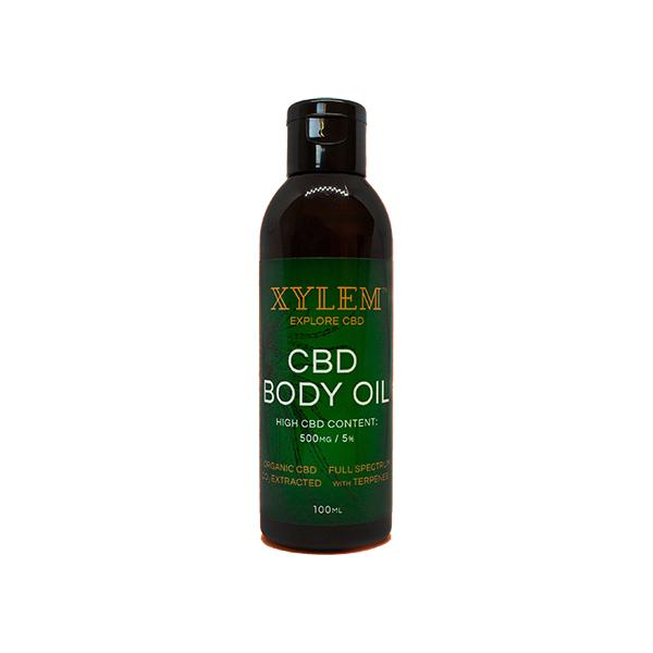 XYLEM CBD Body Oil 500MG 5% 100ml-CBD Products-XYLEM-Grow Guru Ltd