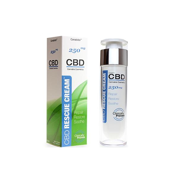 Canabidol 250mg CBD Rescue Cream 50ml-CBD Products-Canabidol-Grow Guru Ltd