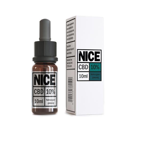 Mr Nice 10% 1000mg CBD Oil Drops 10ml-CBD Products-MR Nice-Grow Guru Ltd