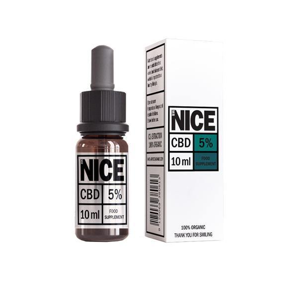 Mr Nice 5% 500mg CBD Oil Drops 10ml-CBD Products-MR Nice-Grow Guru Ltd