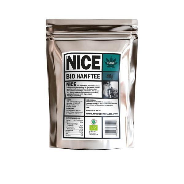 Mr Nice Organic Hemp Tea 40g-CBD Products-MR Nice-Grow Guru Ltd