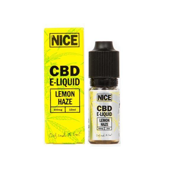 Mr Nice 300mg CBD E-Liquid 10ml-CBD Products-MR Nice-Lemon Haze-Grow Guru Ltd