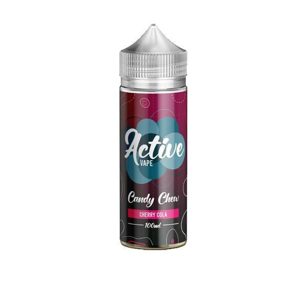 Active Vape by Ohm Boy 100ml Shorfill 0mg (70VG/30PG)-Vaping Products-Ohm Boy-Cherry Cola Chew-Grow Guru Ltd