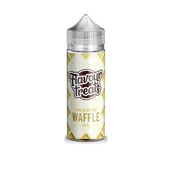 Flavour Treats by Ohm Boy 100ml Shorfill 0mg (70VG/30PG)-Vaping Products-Ohm Boy-Vanilla Custard Waffle-Grow Guru Ltd