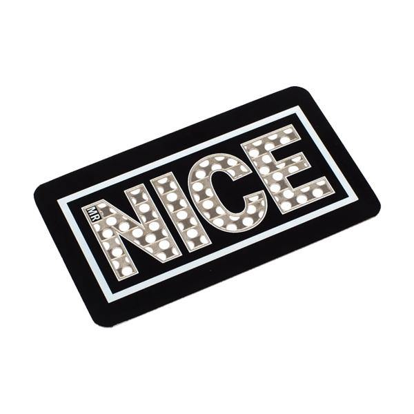 Mr Nice Stay Nice Grinder Card - Black-Smoking Products-MR Nice-Grow Guru Ltd