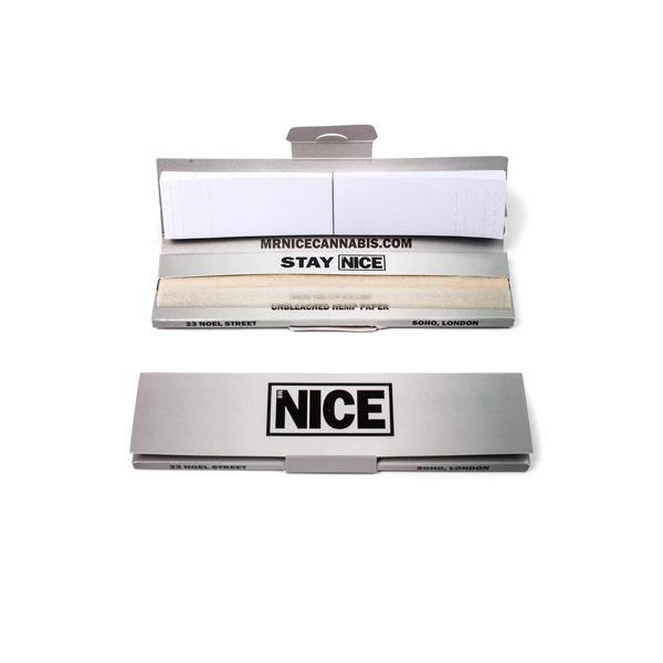 Mr Nice King Size Logo Rolling Papers-Smoking Products-MR Nice-Grow Guru Ltd
