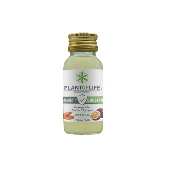Plant Of Life 25mg CBD Immunity Booster 60ml-CBD Products-Plant of Life-Grow Guru Ltd