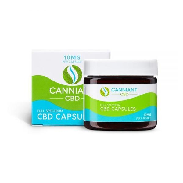 Canniant Full Spectrum 300mg CBD Capsules - 30 Capsules-CBD Products-Canniant-Grow Guru Ltd