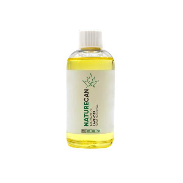 Naturecan 500mg CBD Massage Oil 100ml-CBD Products-Naturecan-Grow Guru Ltd